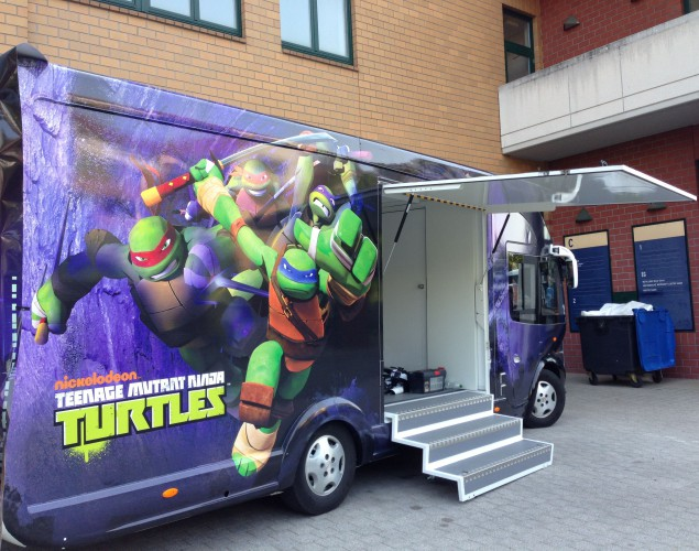 Turtles Van